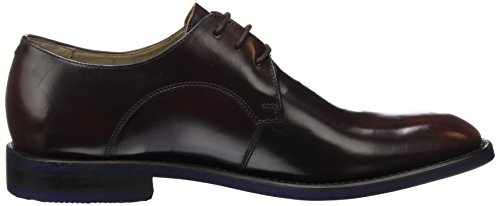 Clarks Swinley, Scarpe Stringate Uomo Marrone (Chestnut Leather)