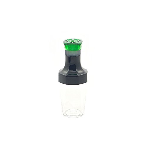 TWSBI Ink bottle,Tintenfass,inkwell,Tintenglas,VAC 20A,Reisegröße 20 ml,Kunststoff/Farbe Grün
