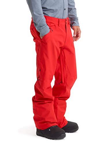 Burton Herren Skihose Gore-Tex Vent, Herren, Snowboarding-Hose, Men's Gore-tex Vent Pant, Scharlachrot (Flame Scarlet), Small