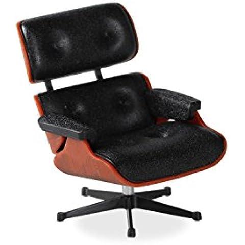 Poltrona in Miniatura LOUNGE MERI-Black-Unica Inspiración Lounge Chair de Charles & Ray Eames