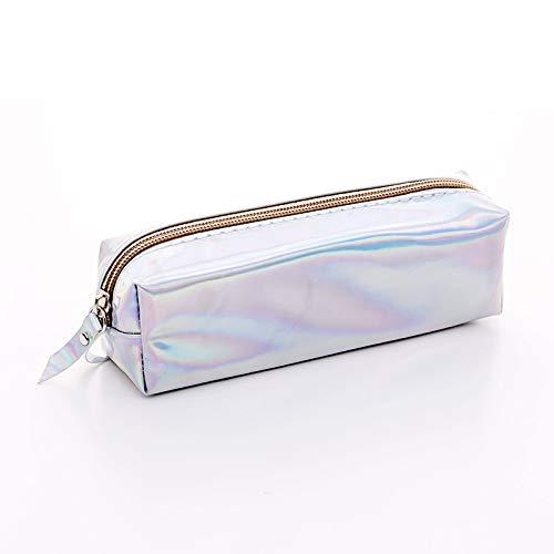 ser Schule Federmäppchen für Mädchen Nette Federbeutel Bleistift Box Schreibwaren Beutel BTS Büro Schulbedarf siliver ()
