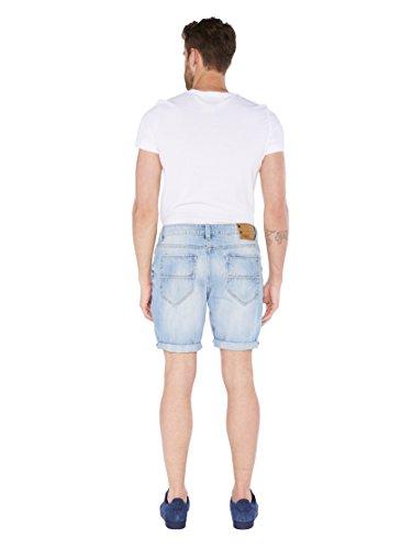 ... Colorado Denim Herren Shorts Barry Blau (vintage Stone 914) ...