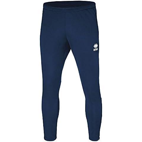Key bestseller pantaloni da uomo (lungo) sottile con gamba (aderente appuntito) e chiusura lampo · Unisex Slim Fit zip pantaloni sportivi () in poliestere per Individual Sport & Team sport di Errea, marineblau, M