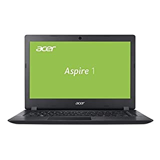 Acer Aspire 1 A114-31-C3RS 35,6 cm (14 Zoll HD matt) Multimedia Notebook (Intel Celeron N3450, 4 GB RAM, 64 GB eMMC, Intel HD, Win 10 im S Modus) schwarz
