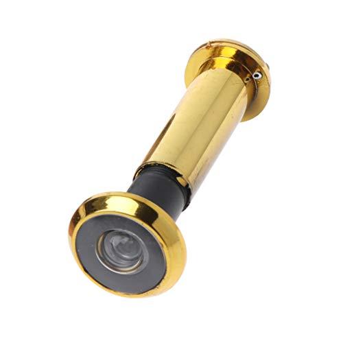 Lamdoo 220 Grad Weitwinkel Türspion Blickschutzabdeckung Sicherheitstürspion - Gold