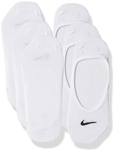 Nike Damen Socken No Show Lightweight 3er Pack, Schwarz/Weiß, M