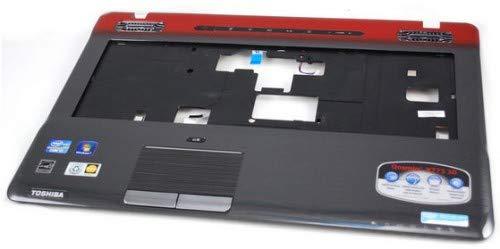 Toshiba K000126790Gehäuse (Oberteil)-Komponente Notebook zusätzliche-Zusätzliche Notebook (Komponenten Gehäuse (Oberteil), schwarz, grau, rot, Qosmio X770, X775, Kunststoff) (Grau-toshiba-laptop)