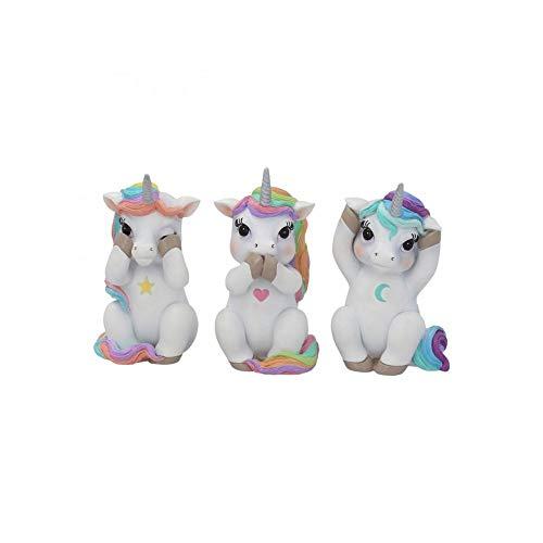 Nemesis Now 3 unicornios sabios de 9,5 cm de alto