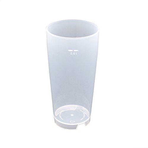 50 Stück 0,4L Mehrwegbecher PP transparent