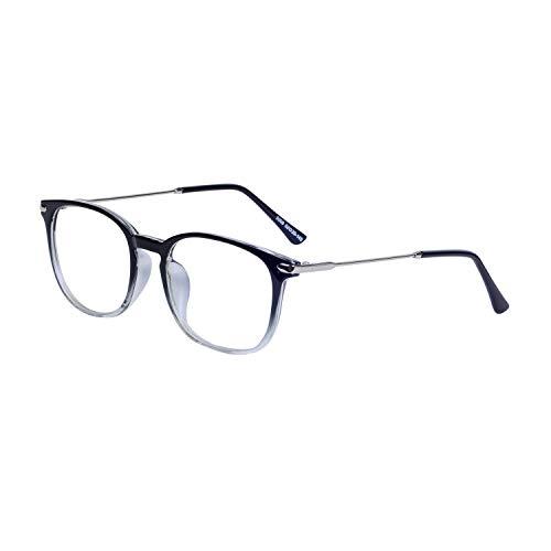Joxigo filtro luce blu occhiali da computer anti radiazioni antiriflesso anti-uv lente trasparente montatura tr90 con custodia