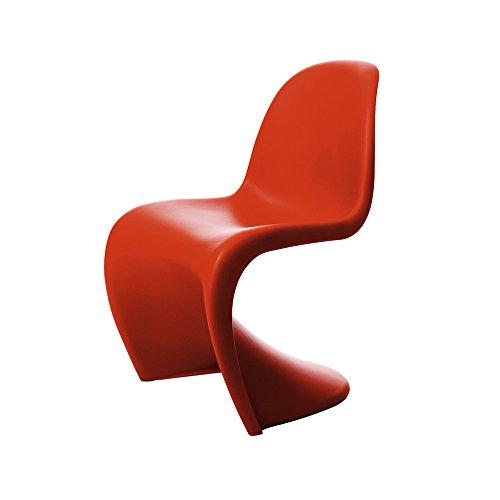 Vitra Stuhl 44003004Design Typ Panton Rot, klassische