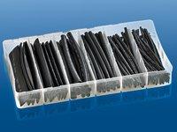 Schrumpfschlauch-Sortiment von 1,5 - 13mm 100teilig schwarz von wechselnde bei Lampenhans.de