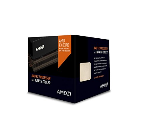 AMD FX 8370 - Procesador (AMD FX, 4 GHz, Socket AM3+, PC, 32 NM, FX-8370)