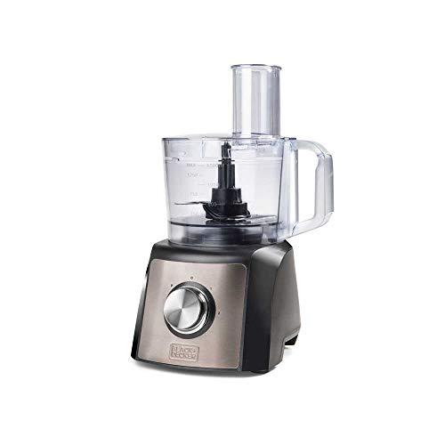 Black+Decker BXFPA1200E Robot da Cucina, 1200 W, Inox