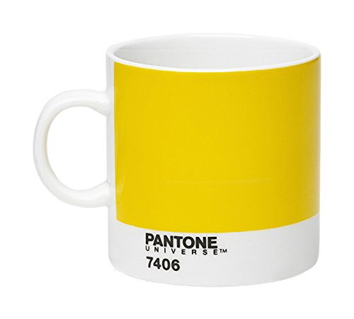 Pantone P10104018 Porzellan-Espressotasse, 120 ml, dunkelgelb 7406