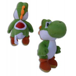 Super Mario Bros: Muñeco Peluche Yoshi 23cm Videojuego Nintendo Alta