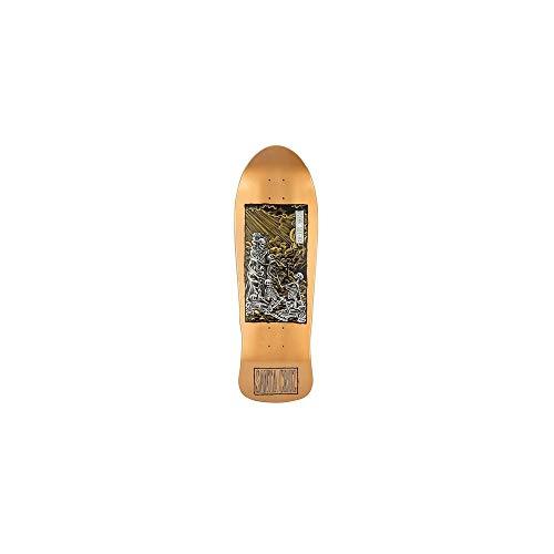 Santa Cruz Metallic Copper Dip O Brien Purgatory - 31 Inch Skateboard-Deck (One Size, Braun)