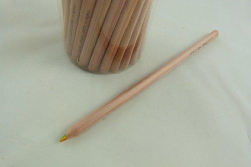 7 in 1 triangolo matita (una matita) in legno arcobaleno colorato (Triangolo Attività)