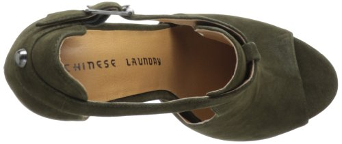 Chinese Laundry Jolt Femmes Synthétique Sandales Olive