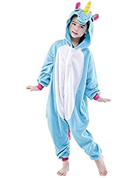 576e4a0b8be ABYED Kigurumi Pijamas Unisexo Adulto Cosplay Traje Disfraz Adulto Animal  Pyjamas Ropa de Dormir Halloween y