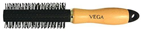 Vega Pinceau rond. Sans nœuds de massage brosse à cheveux peigne. Code produit # h3-rb