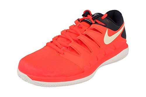 Nike Herren Air Zoom Vapor X Clay Fitnessschuhe Mehrfarbig (Bright Crimson/Phantom/White 600) 46 EU