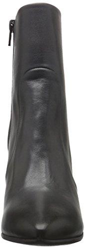 Buffalo London Damen Es 30757 Mestico Kurzschaft Stiefel Schwarz (CHIARA 01)
