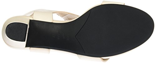 Shoe Closet Jolie, Sandali con Zeppa Donna Beige (221 Nude)