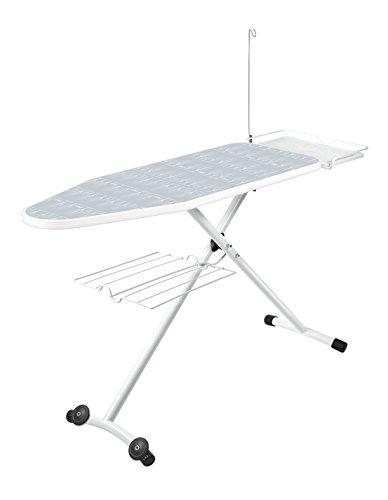 Polti Tabla Convencional Tabla de planchar para centros de planchado con caldera, Blanco