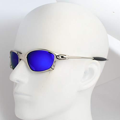 ZKAMUYLC Fahrradbrille 2019 Unique Design Polarized 4 Lens Cycling Glasses Men Women Cycling Eyewear Mountain Bike Goggles Bicycle Cycling Sunglasses,style5
