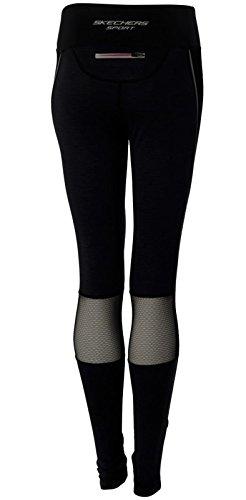 Skechers - Leggings sportivi -  donna Black