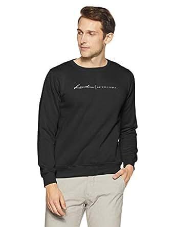 Qube By Fort Collins Men's Sweatshirt (929241 SMU_Anthra_M)