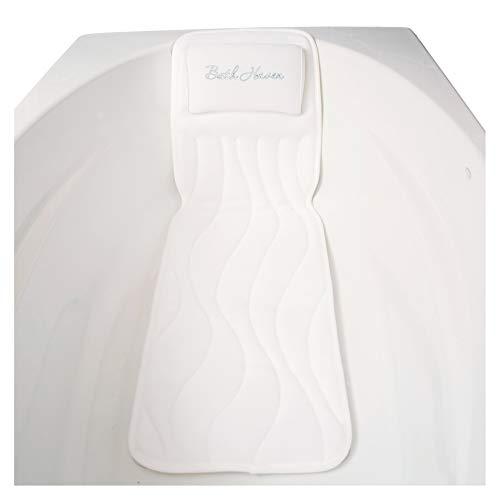 Bath Haven Badewanneneinlage Mit Kissen, Gesteppt Badewannenkissen Mit Wanneneinlage - Genießen Sie Unvergleichlichen Badekomfort Mit Diesem Ganzkörper Badewannenpolster (Deluxe)