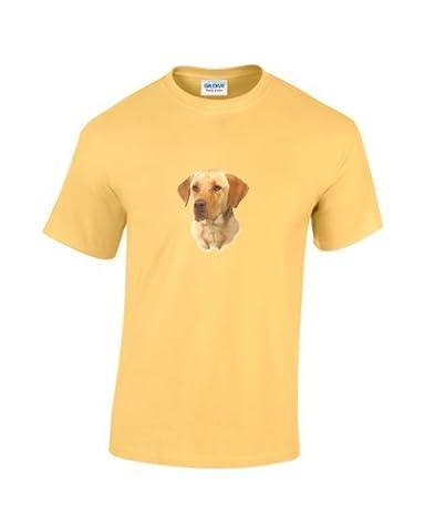 Hangover Dog Funny T-Shirt Yellow