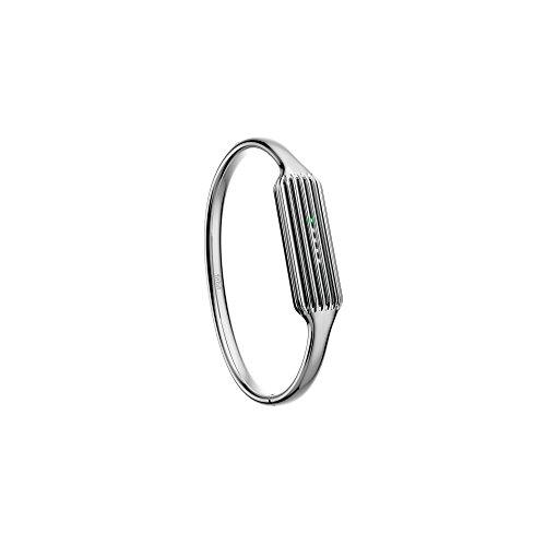Fitbit Flex 2 - Armband für Fitbit Flex 2 aus poliertem Edelstahl, Größe L