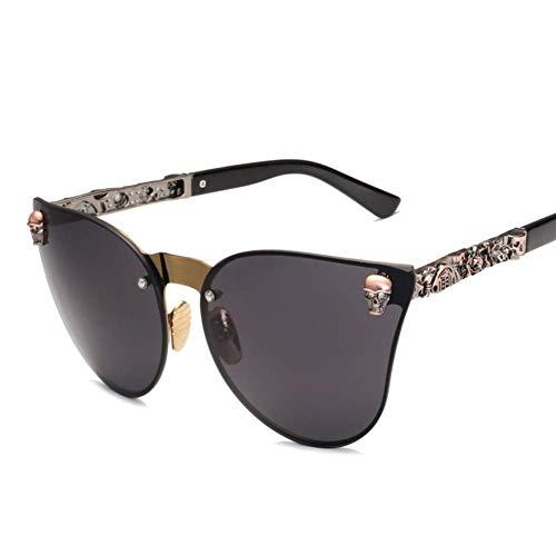 RITIOA Spezielle Sonnenbrille, Heiße Blumenbeine, Totenkopf, Brille, Frauen