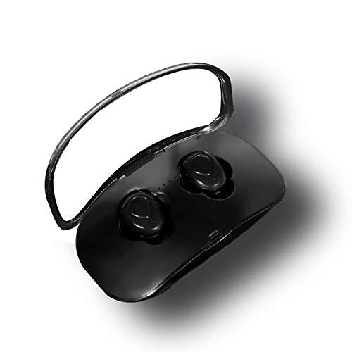 Hengta Bluetooth V5.0 Kopfhörer in Ear, TWS True Wireless Headset mit Mikrofon Stereo-Sound 24 Std Spielzeit Auto Pairing Wasserdicht Mini Sport Ohrhörer mit tragbar Ladebox für iPhone Android (Player Android-basierte)