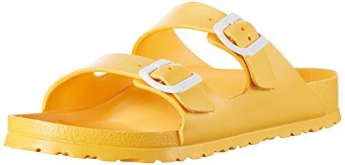Birkenstock Unisex-Erwachsene Arizona Eva Pantoletten Gelb (Scuba Yellow)