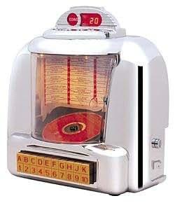 Diner selector style CD jukebox