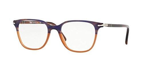 Ray-Ban Damen 0PO3203V Brillengestelle, Blau (Striped Blue Gradient Orange), 51