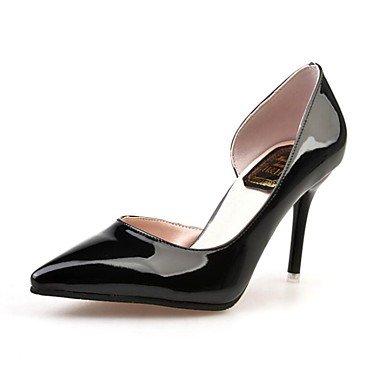 Zormey Les Talons Des Femmes Printemps Été Automne Hiver Chaussures Chaussures Club Bureau Extérieur En Pu &Amp; Carrière Casual Talon Marche Hollow-Out US7.5 / EU38 / UK5.5 / CN38
