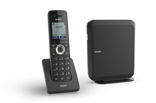 Snom M215 Wireless Single Cell Solution M200 Base Station Plus M15 Handset