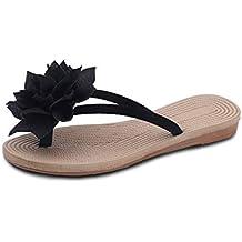Chanclas de Verano para Mujer Zapatillas de Playa Planas Moda Casual Ligero y Comodo Sandalias Estilo