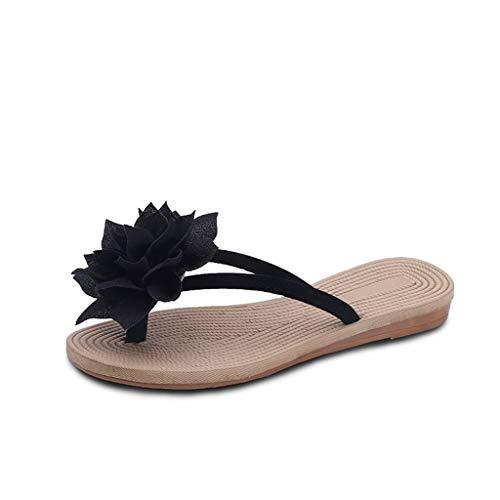 bb72c96c4 Chanclas de Verano para Mujer Zapatillas de Playa Planas Moda Casual Ligero  y Comodo Sandalias.