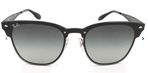 Ray-Ban Unisex-Erwachsene 0RB3576N 153/11 47 Sonnenbrille, Demi Gloss Black/Greygradientdarkgrey