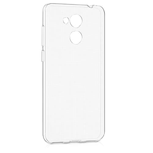 kwmobile Huawei Honor 6C Pro Hülle - Handyhülle für Huawei Honor 6C Pro - Handy Case in Transparent