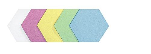 Legamaster 7–256499–Tarjetas de moderación Panal 190x 165mm, 250unidades), varios colores