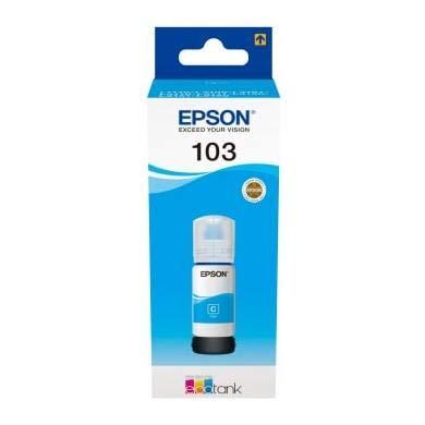Epson C13T00S24A EcoTank bottle 65ml - Epson C13T00S24A 103 EcoTank ink bottle 65ml (cyan)