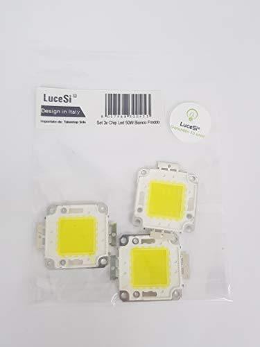 lucesì–Juego 3x chip Cip LED para faro foco exterior Luz Repuesto Alta...