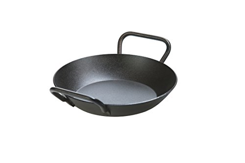 Lodge Manufacturing Company CRS8DLH Carbon Steel Skillet, 8